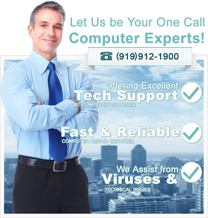 Your Local Clayton Computer Repair EXPERT Technicians!